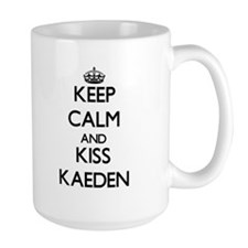 Keep Calm and Kiss Kaeden Mugs