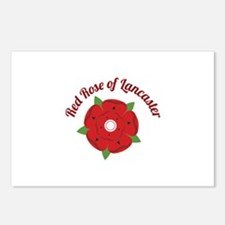 Rose Of Lancaster Postcards (Package of 8)