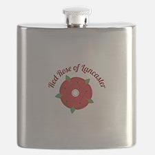 Rose Of Lancaster Flask