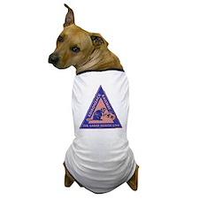 Eager Beaver Line Dog T-Shirt