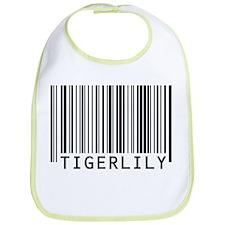 Tigerlily Barcode Baby Bib