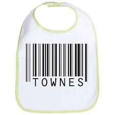 Townes Barcode Baby Bib