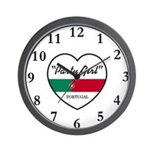 Party Girl Portugal Wall Clock