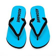 Bright Neon Blue Custom Trendy Fashion Colors Flip