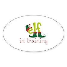 Elf In Training Decal