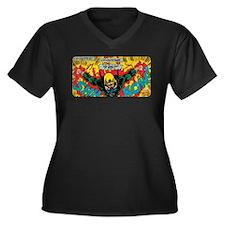 Iron Fist Women's Plus Size V-Neck Dark T-Shirt