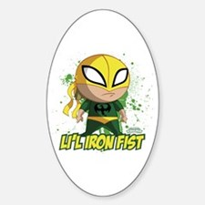 Marvel Lil Iron Fist Decal