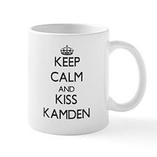 Keep Calm and Kiss Kamden Mugs