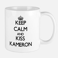 Keep Calm and Kiss Kameron Mugs