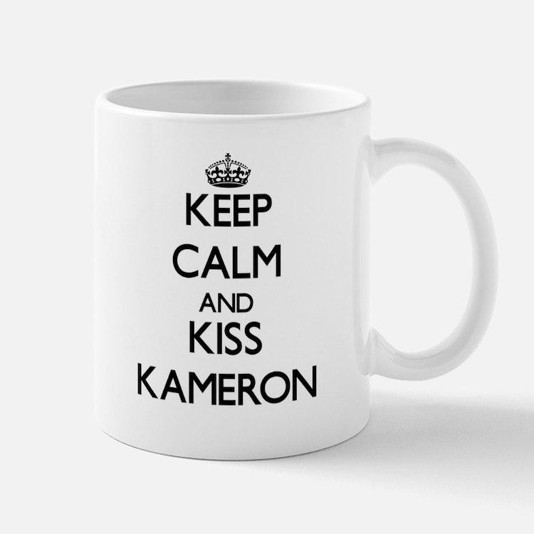Keep Calm and Kiss Kameron Mugs