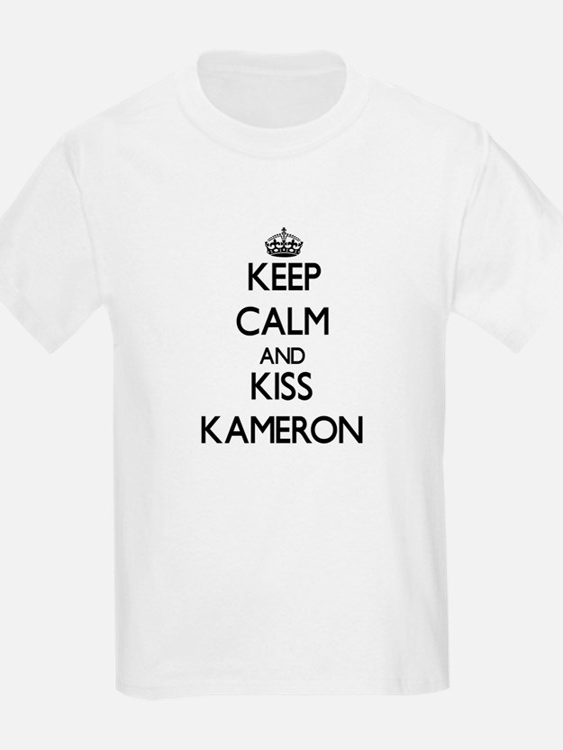Keep Calm and Kiss Kameron T-Shirt