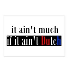 It ain't much if it ain't Dutch Postcards (Package
