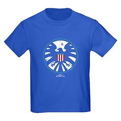 Marvel Agents of S.H.I.E.L.D. Kids Dark T-Shirt