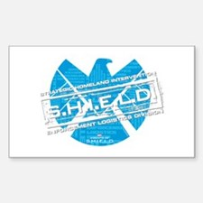 S.H.I.E.L.D. Distressed Decal