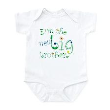 fun font new big brother Infant Bodysuit