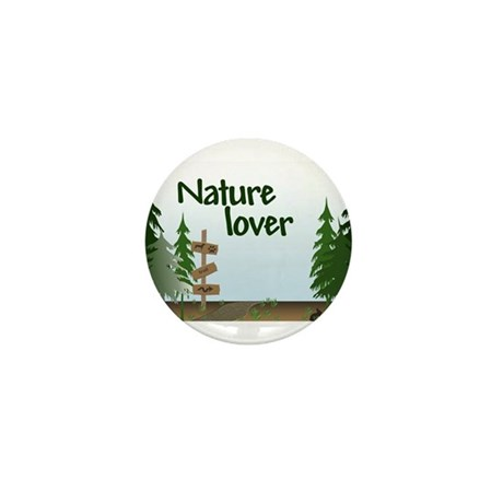 Nature Lover Mini Button (10 pack)