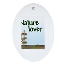 Nature Lover Oval Ornament