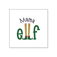 Mama Elf Sticker