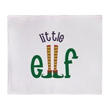 Little Elf Throw Blanket