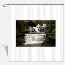 Buttermilk Falls, Ithaca, New York Shower Curtain