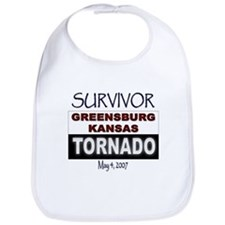 Survivor Kansas Tornado Bib