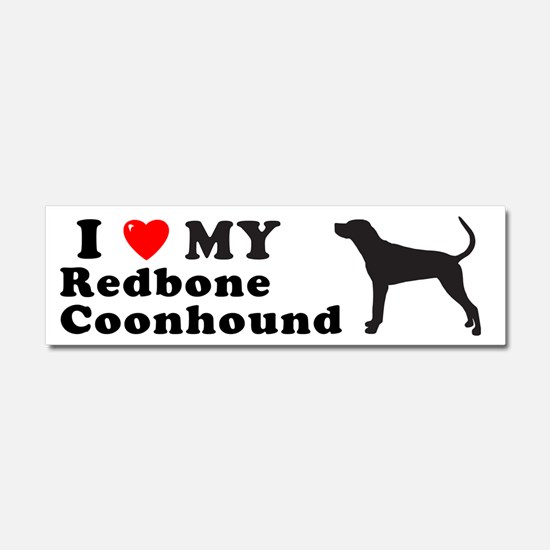 Cute Mixed breed dog Car Magnet 10 x 3
