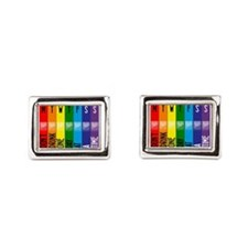 One Day At A Time Rectangular Cufflinks