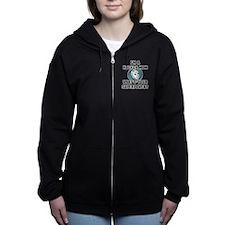 Hockey Mom Superhero Women's Zip Hoodie