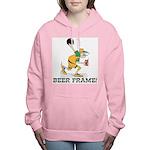 Beer Frame Bowling Women's Hooded Sweatshirt