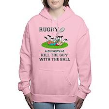 Rugby Kills Women's Hooded Sweatshirt
