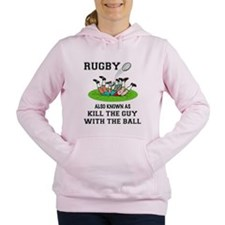 Rugby Kills Women's Hooded Sweatshirt
