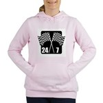 Racing 24/7 Women's Hooded Sweatshirt