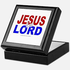 Jesus Is Lord Keepsake Box