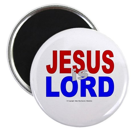 """Jesus Is Lord 2.25"""" Magnet (10 pack)"""