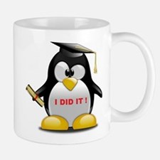 I DID IT , GRADUATION PENGUIN Mug