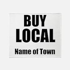 Buy Local Throw Blanket