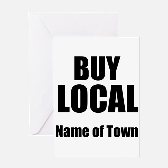 Buy Local Greeting Cards