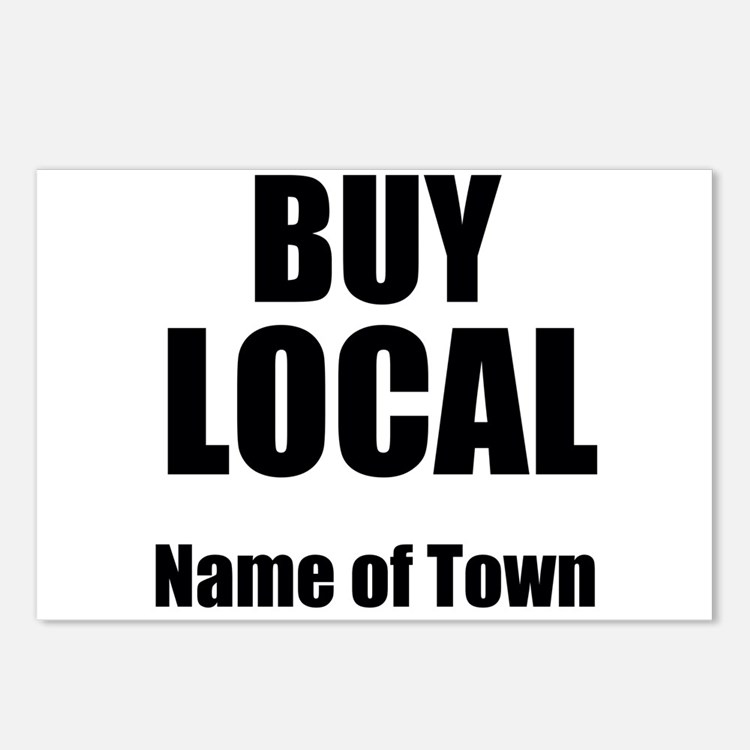 Buy Local Postcards (Package of 8)