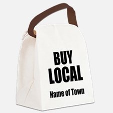 Buy Local Canvas Lunch Bag