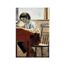 Winslow Homer - Homework Rectangle Magnet