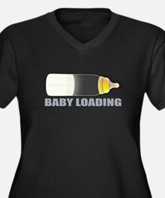 Baby Loading 2 by Leslie Harlow Plus Size T-Shirt