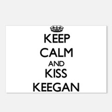 Keep Calm and Kiss Keegan Postcards (Package of 8)