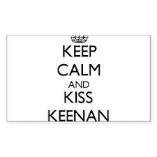 Keep Calm and Kiss Keenan Decal
