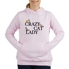 Crazy Cat Lady Women's Hooded Sweatshirt