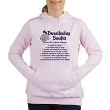 Breastfeeding Benefits Women's Hooded Sweatshirt
