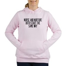 Nurse and Nurture Women's Hooded Sweatshirt