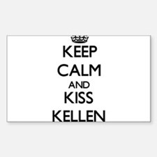 Keep Calm and Kiss Kellen Decal