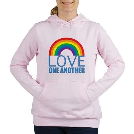 Love One Another Women's Hooded Sweatshirt