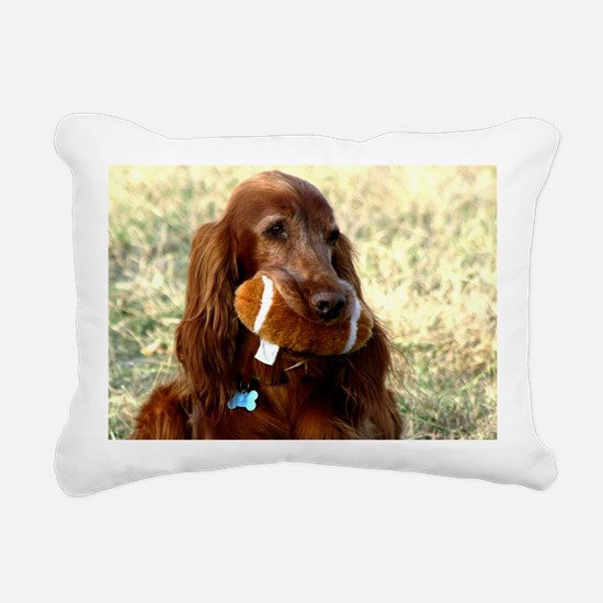 Conley Football Rectangular Canvas Pillow
