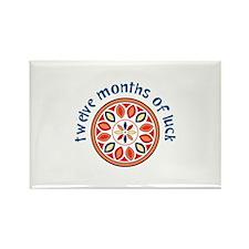 Twelve Months Magnets